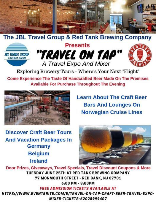 Travel On Tap - Travel Expo & Craft Beer Mixer at Red Tank Brewing