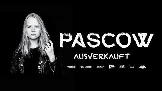 Pascow - JADE Kln - Ausverkauft