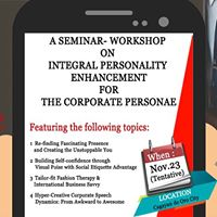 Integral Personality Enhancement Seminar-Workshop