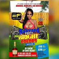 Bakyard Party - Bright Colors Affair