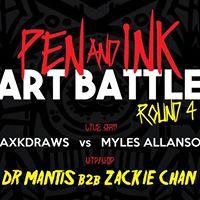 Pen and Ink Art Battle - Round 4  Juno Bar &amp Kitchen
