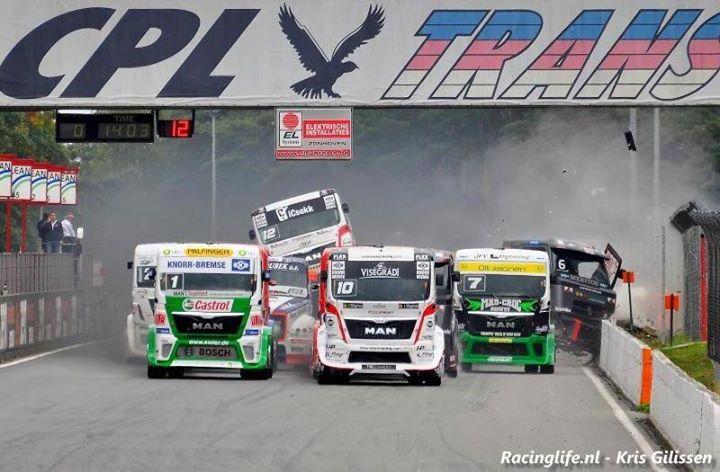 Fia European Truck Grand Prix 2017 At Circuit Zolder Limburg