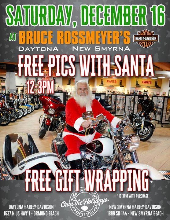 Pics With Santa At Bruce Rossmeyer S New Smyrna Harley Davidson New