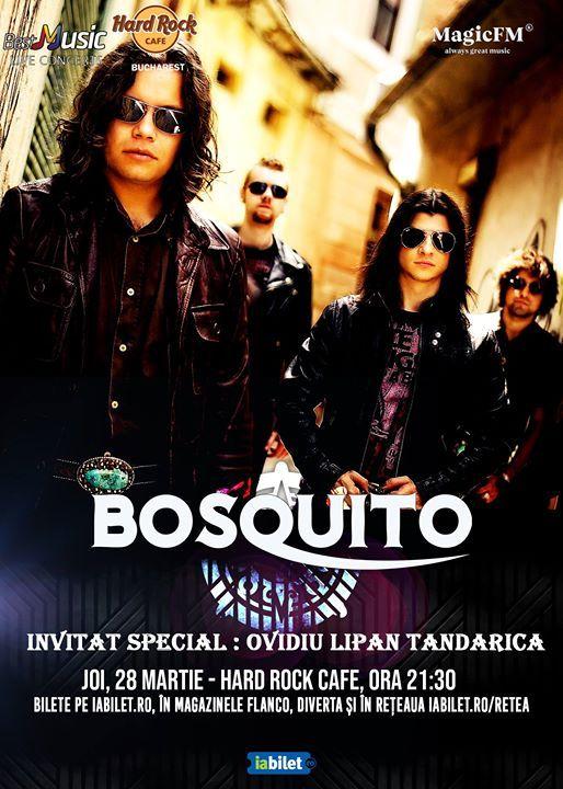 Concert Bosquito & Ovidiu Lipan Tandarica 28 martie - Hard Rock