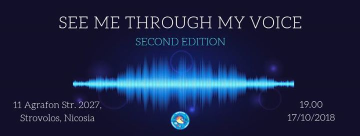 See me through my Voice  2nd Edition