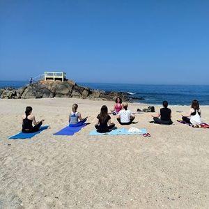Yoga Na Natureza E Ao Ar Livre