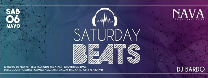 Saturday Beats At Nava Terraza Lounge Lima