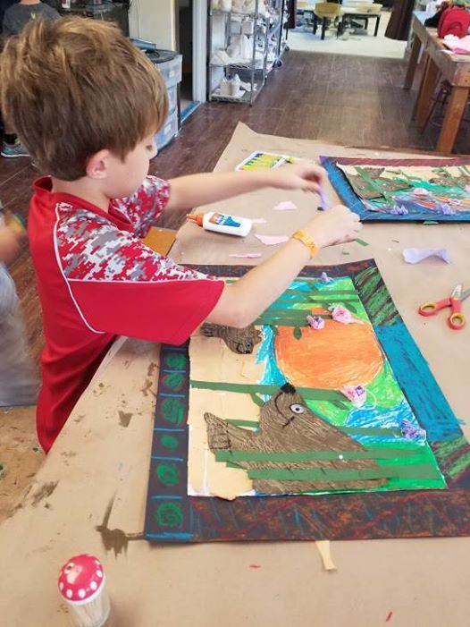Childrens Mixed Media Art Classes (ages 5-8) Spring Sessions