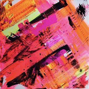 ArtNight Abstrakt Neon am 30042019 in Freiburg