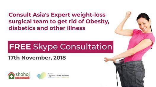 Free Medical Consultation For Weight Loss At Shohoj Medical Service