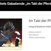 Messe Pferd - Gala-Abend