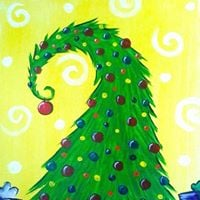 Cookies &amp Canvas- Grinch Tree