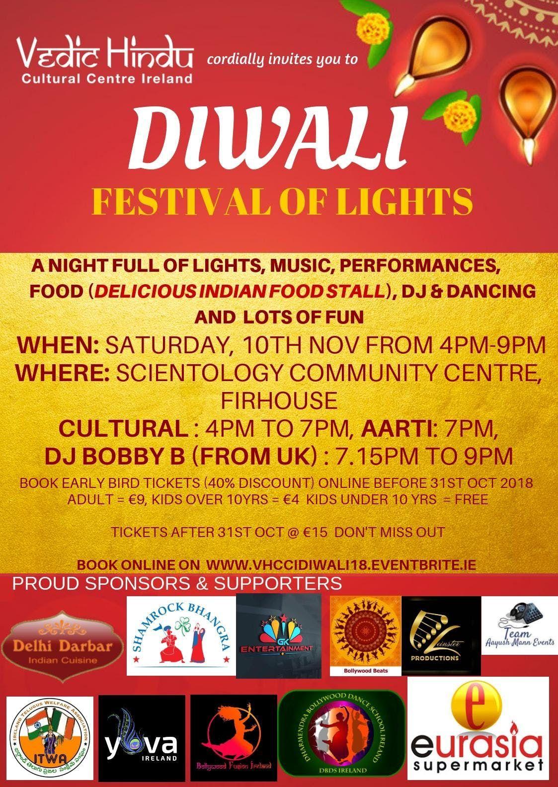 Diwali- Festival Of Lights (Dublin)