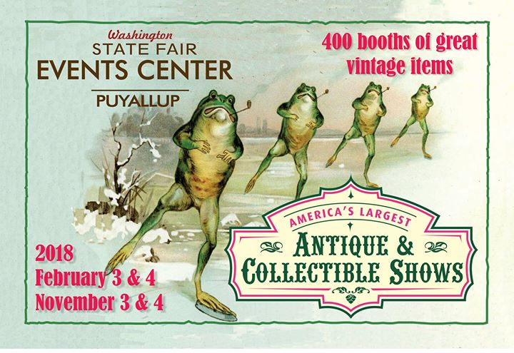 February 2018 Calendar Vintage : February puyallup vintage antique show at