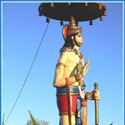 Lord Hanuman Statue, Shri Vishnu Temple, Chatsworth, Durban South Africa