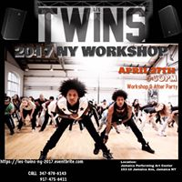 Les TWINS Workshop &amp AFTERPARTY