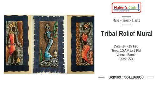 Tribal Relief Mural Workshop