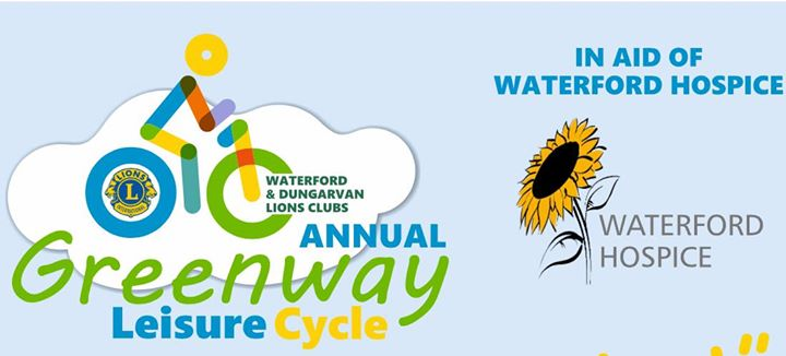 East meets West Waterford Lions Club 2018 Greenway Cycle