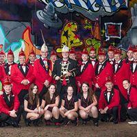 Onthulling kunstwerk 5x11 jaar openbaar carnaval