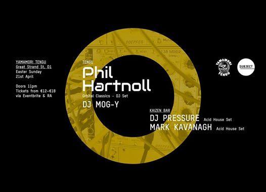 Phil Hartnoll - Orbital Classics DJ Set at Tengu   Dublin