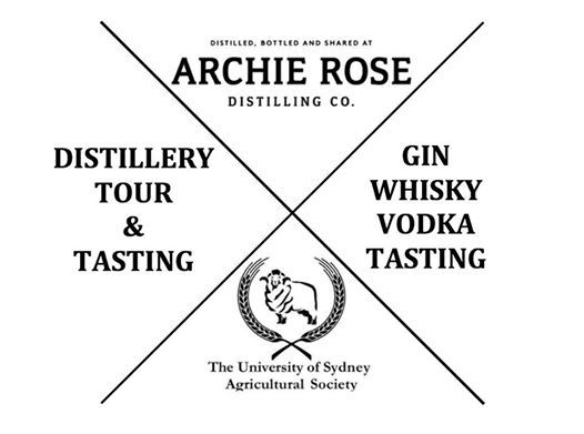 AGSOC X Archie Rose - Distillery Tour and Tasting