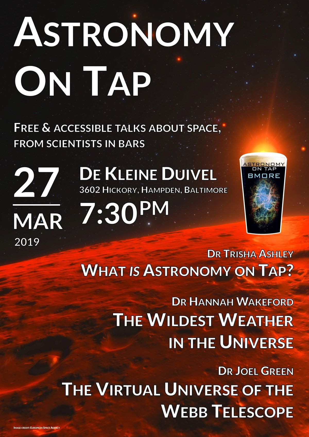 Astronomy on Tap Baltimore