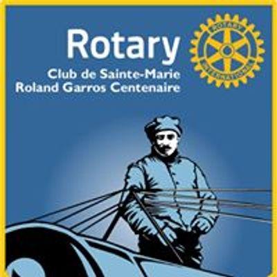 Rotary Club Sainte-Marie Roland Garros Centenaire