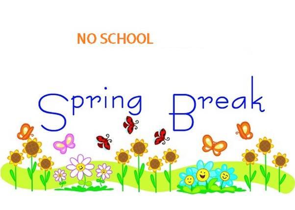 Spring Break No School