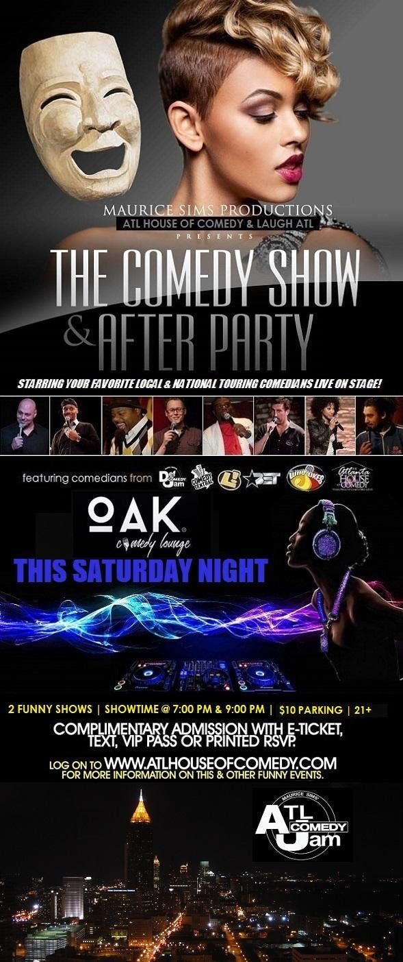 Sunday Comedy & After Party ATL