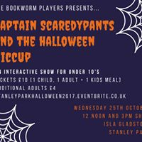 Captain Scaredypants Halloween show
