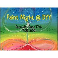 Paint Night Pot Luck at DYY