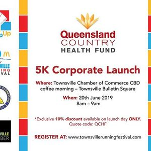 QCHF 5K Corporate Launch