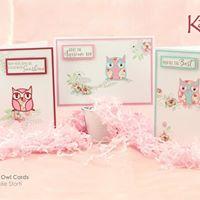 Pastel Owl Cards