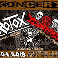 07.04.18 - Kielce Pub Tunel - Azotox Na Zewntrz Pijacka Banda