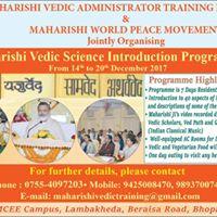 Maharishi Vedic Science Introduction Programme