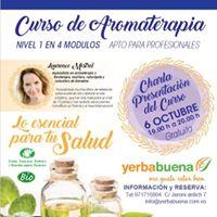 CURSO Aromaterapia NIVEL I