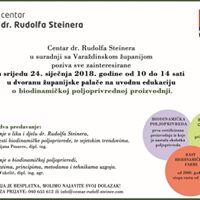Uvodna predavanja o biodinamici  Varazdinska zupanija