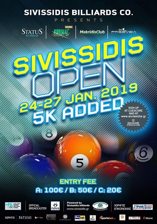 Sivissidis Open 2019