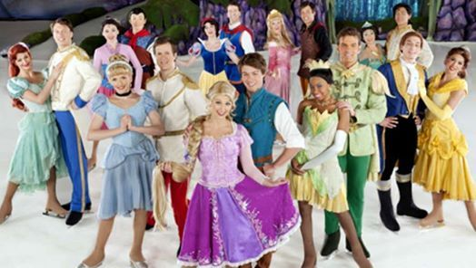 Disney On Ice Dare To Dream at Verizon Arena