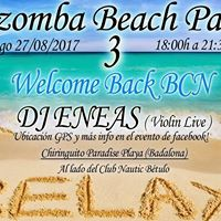Kizomba Beach Party 3 Welcome Back BCN
