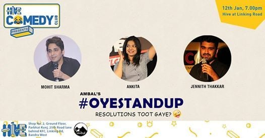 Oye Stand-Up with Mohit  Ankita and Jennith