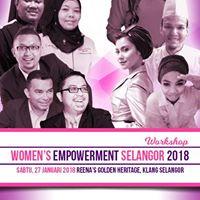 WorkShop &amp Seminar Womens Empowerment Selangor 2018