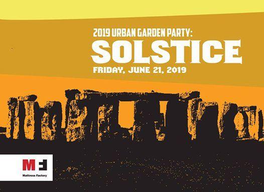 2019 Urban Garden Party Solstice