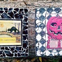 Halloween Tempered Glass Mosaic Class