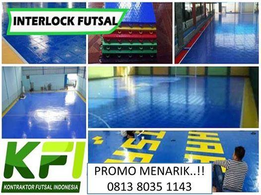 Jual Lapangan Futsal Interlock Pemalang Call  0813 8035 1143