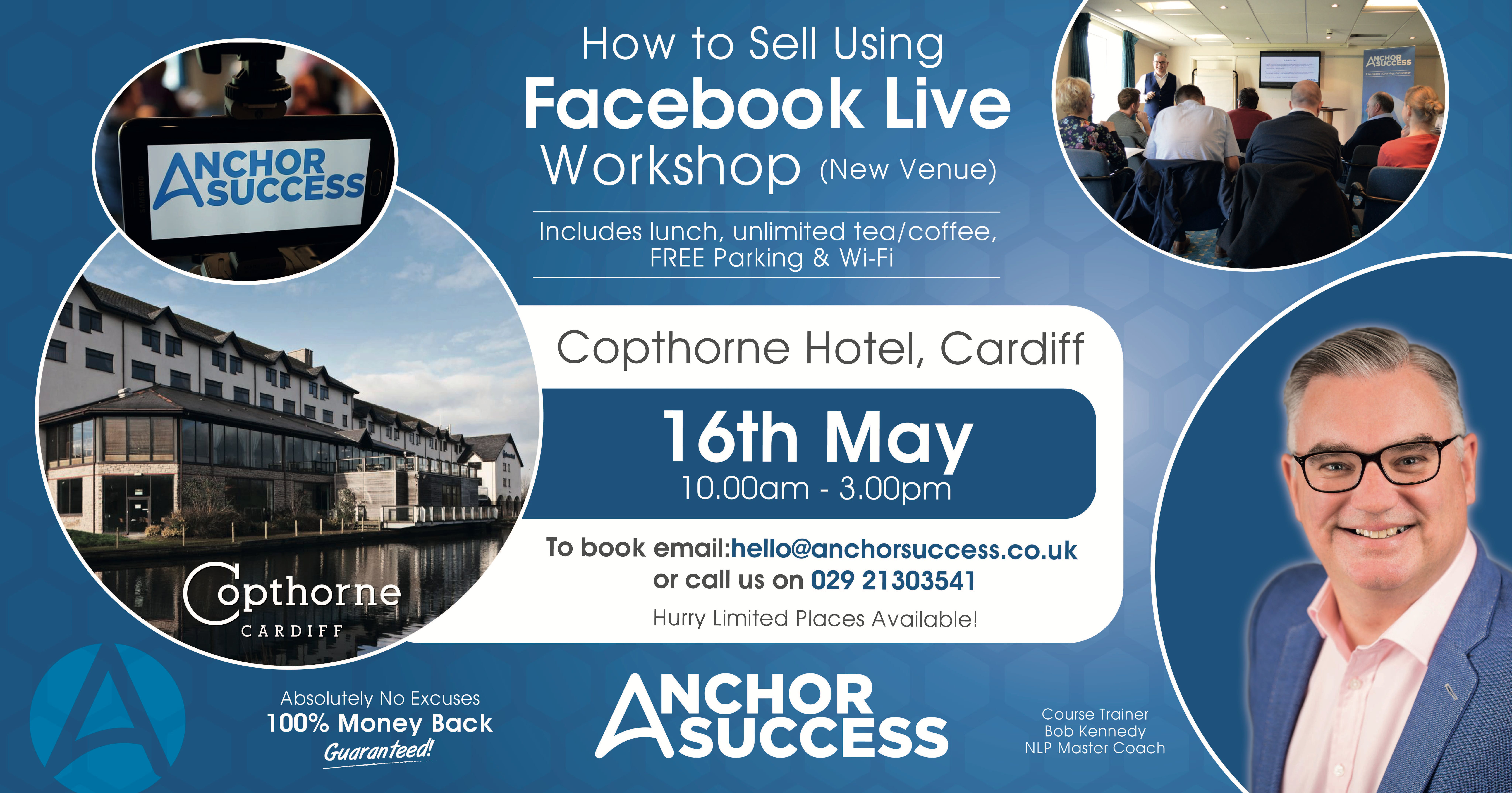 Learn How To Sell Using Facebook Live at Copthorne Hotel