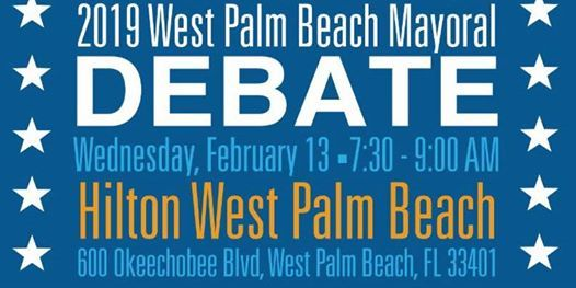 2019 West Palm Beach Mayoral Debate