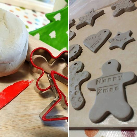 create your own ceramic christmas tree decorations under 6s - Paint Your Own Ceramic Christmas Decorations
