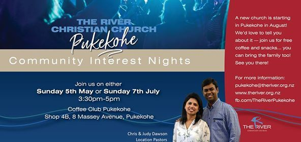 The River Church Pukekohe Interest Night
