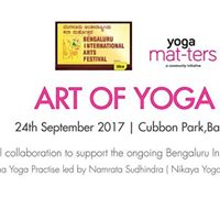 Yoga Mat-ters in.the.park (Edition 40)  Art of Yoga IV